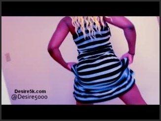 [LQ] Nice Ass Control In Dress - Desire5000 - - 00:06:08 | Ebony, Skinny, Butt - 19 MB