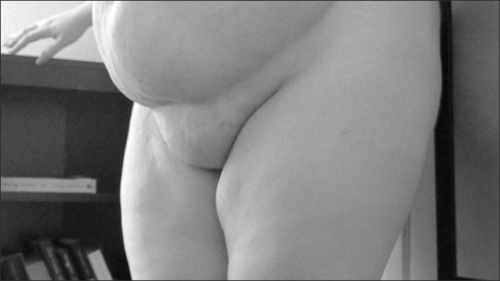 Elizaallure Slow Motion Bbw In Black And White