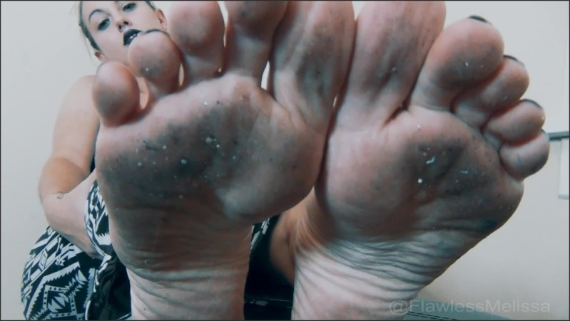 [Full HD] Filthy Feet Lover Foot Slave Flawless Melissa  - Flawlessmelissa - -00:10:00 | Point Of View, Soles, Flawless Melissa - 257,1 MB