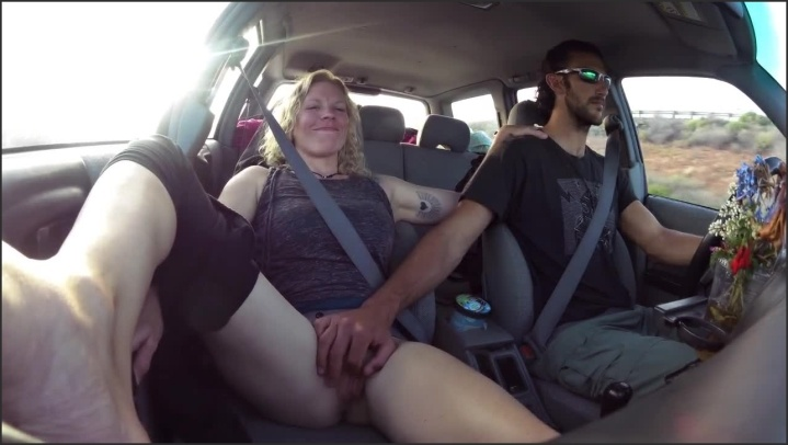 Masturbation In Public On The Highway, Porn Ac