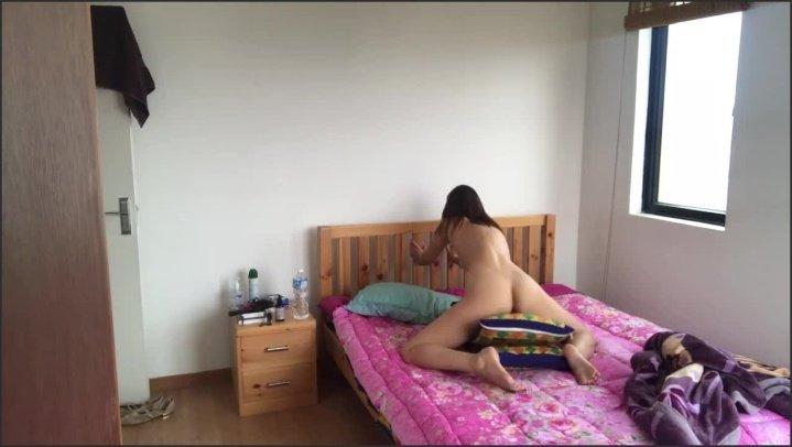 Japanese Girl Humping Orgasm