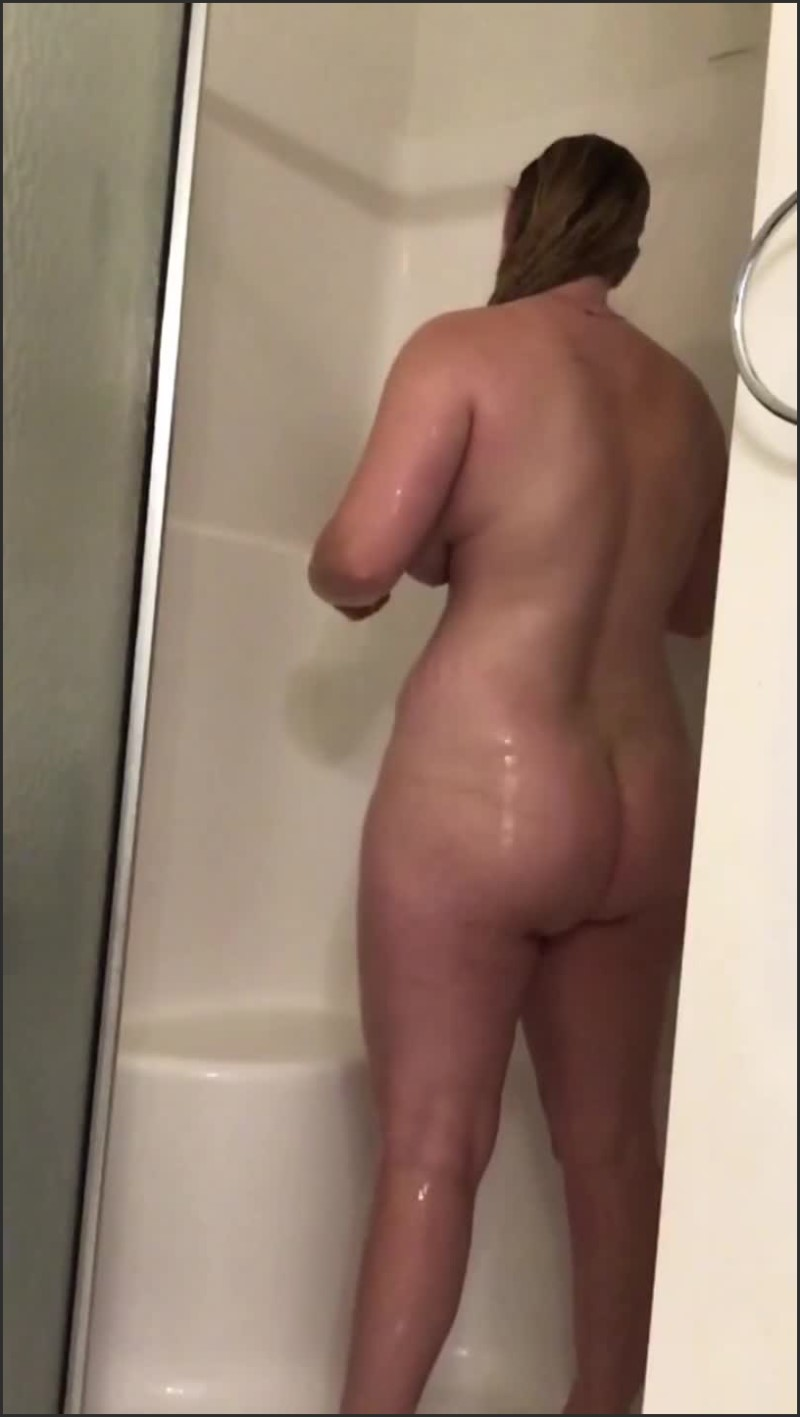 [SD] Dildo Ride With Slo Mo Shower - Hottthing - -00:18:42 | Blonde, Big Ass - 225,1 MB
