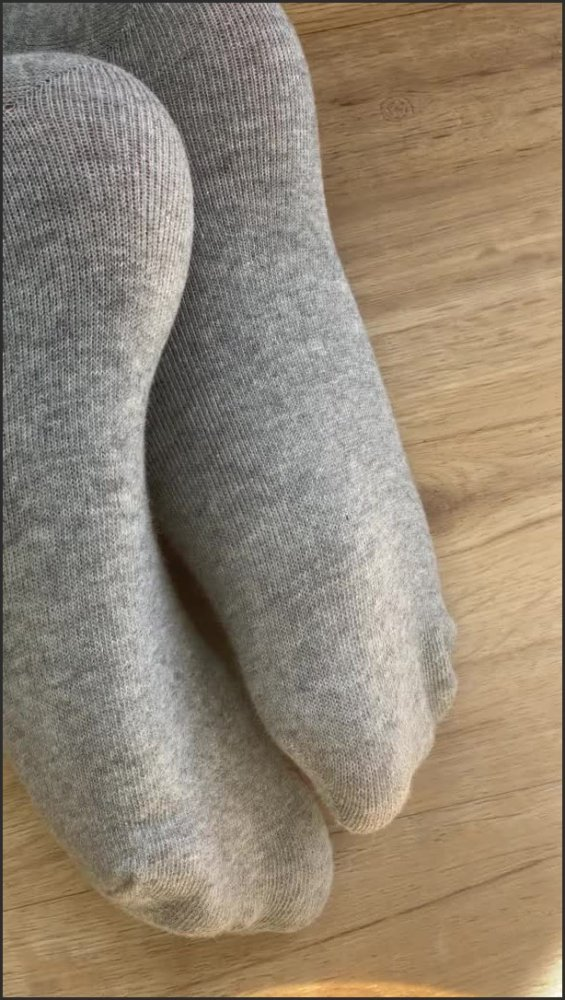 [SD] Spy On My Smelly Feet In Grey Socks Foot Fetish  - Jayboels - -00:07:03 | Stinky, Asian - 120,4 MB