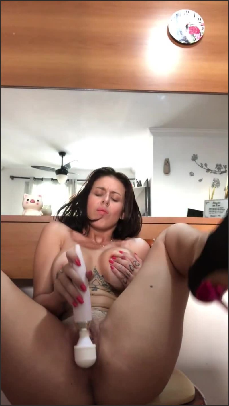 [SD] My Big Clit Is So Horny Today That I Had To Masturbate Me - Jennybrasil - -00:10:43   Masturbation, Orgasm Contractions, Verified Amateurs - 139,8 MB