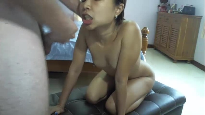 Keymoonasian Anal Amp Pussy Fuck Until Mouth Cumshot