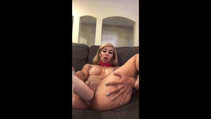 Kinkyjasmine 12 Dildo Fuck