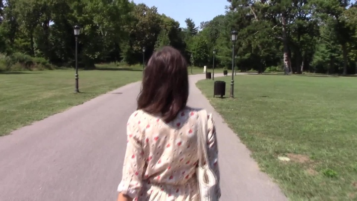 Lillie8Stephen Public Cum Walk In The Park
