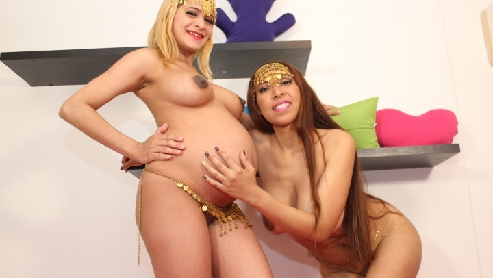 Luciarayne Big Tits Belly Dance Pregnant Girlfriend