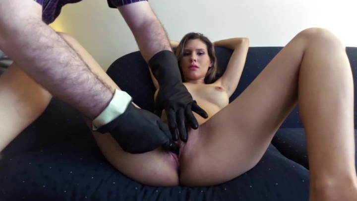 Luciarayne Gloved Vaginal Search 5 Months Pregnant