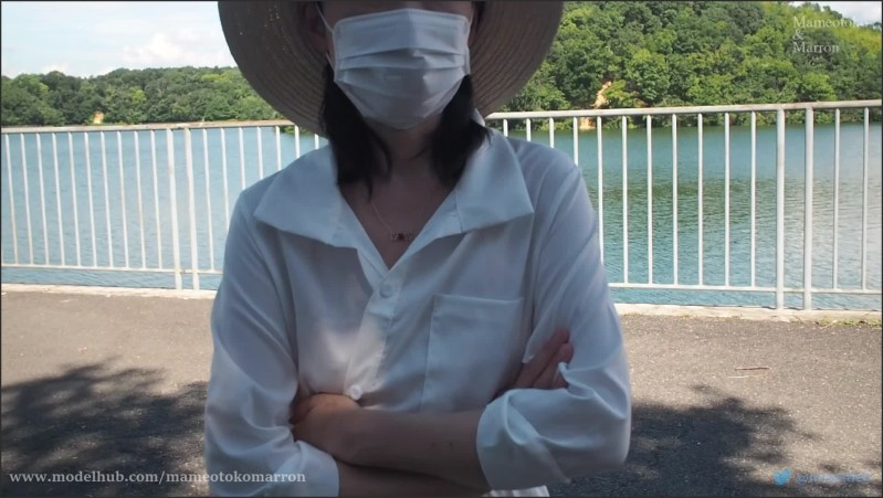 [Full HD] Japanese My Wife Public Flashing At The Waterside - Mameotokomarron - -00:16:56 | Public Flashing, Exhibitionist, Exclusive - 1,5 GB