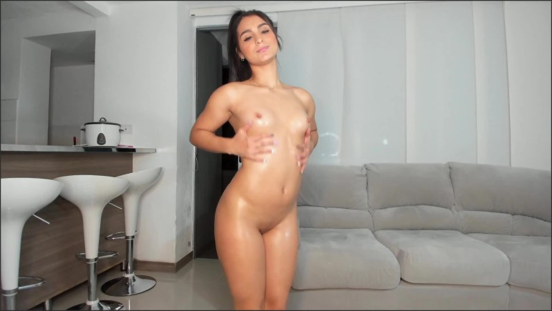 [Full HD] Latina Babe With Oiled Perfect Body Teasing You - Melanyrosse - -00:07:39   Butt, Masturbate - 133,1 MB