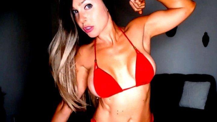 Miss Madison Arrogant Muscle Worship Flex Amp Pose