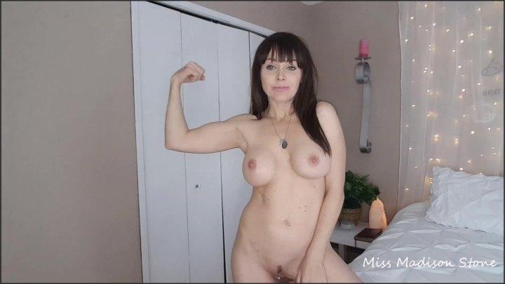 Miss Madison Topless Dry Burping