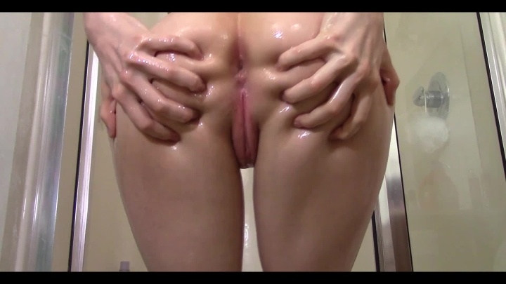 Baby Oil And Soapy Shower