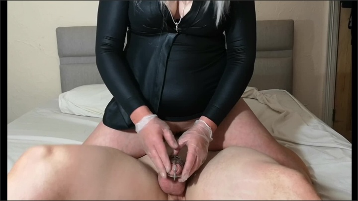 [Full HD] Spiked Chastity Cage Femdom - Mysticalphoto - - 00:10:15 | Verified Couples, Verified Amateurs, Femdom - 144,5 MB