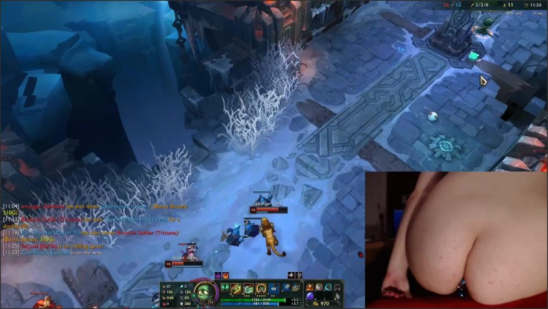 [Full HD] Stimulation In Ass And Pussy While Playing League Of Legends 14 Luna  - Nerdyluna98 - -00:21:13 | Clit Sucking Toy, League Legends, While Playing Games - 458,8 MB