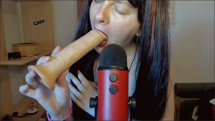 [Full HD] Ascolta Suoni Bagnati Di Risucchi Sopra Il Tuo Cazzo In Asmr Con Blue Yeti - Nicolettaembassi - - 00:12:48 | Asmr Masturbation, Asmr - 232,9 MB