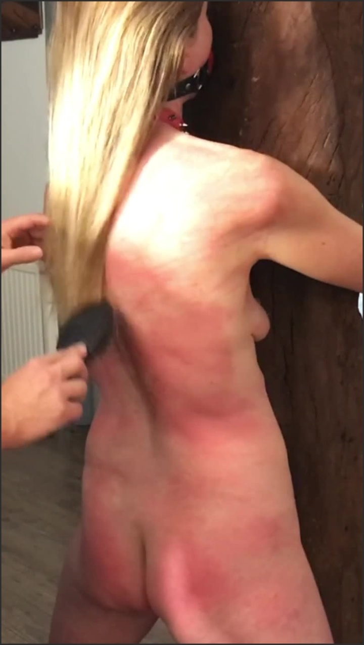 [SD] Painslut Sex Slave Is Tied Spanked Caned Severely Marked By Her Master - Radicalpainslut - - 00:13:00 | Bdsm, Amateur - 139,6 MB