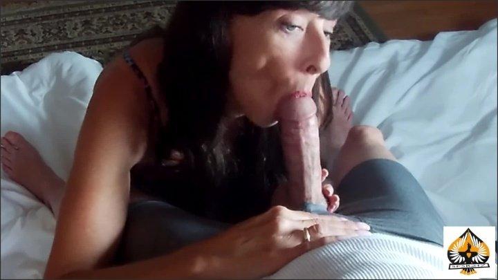 Milf oral creampie