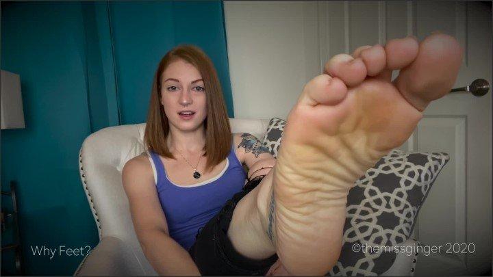 [Full HD] Why Feet - TheMissGinger - - 00:12:37 | Slave Training, Pov - 240,6 MB