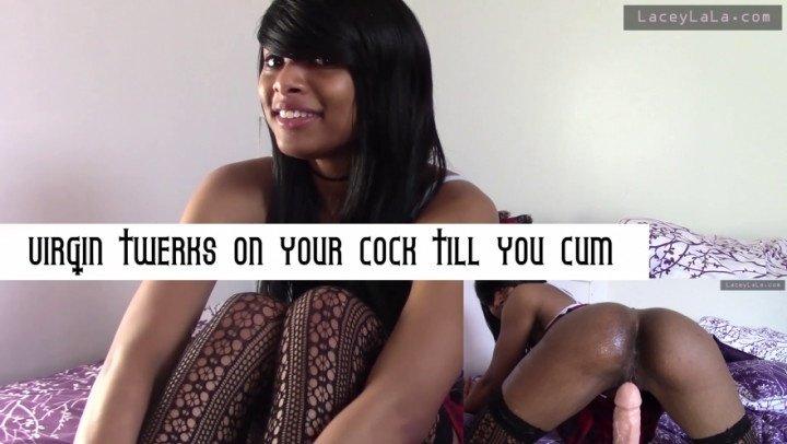 [Full HD] Ulaceylala Virgin Twerks On Your Cock Till You Cum - ULaceyLaLa - ManyVids - 00:08:19 | Twerk, Ebony, Ass Shaking - 896,9 MB