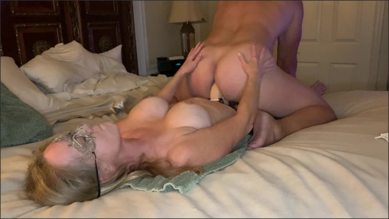 [Full HD] Pegging By Wife Cum On Tits And Lick It Off  - Were6969 - -00:07:55 | Big Tits, Verified Amateurs, Exclusive - 124,2 MB