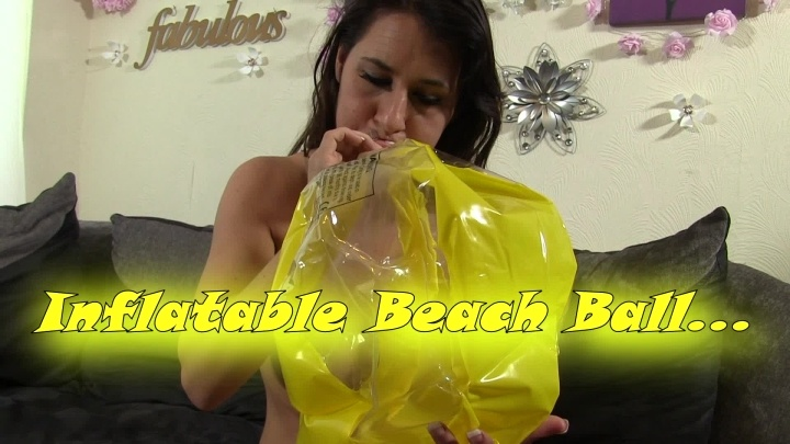 Whores Are Us Beach Ball Inflatable Masturbation