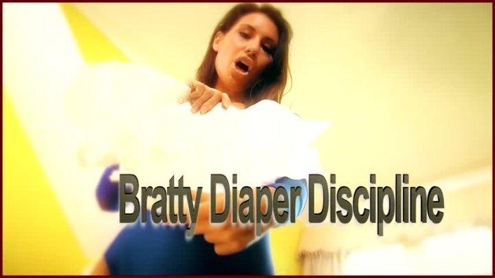 Whores Are Us Bratty Diaper Discipline
