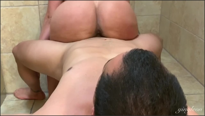Sweaty Fuck After Workout In The Gym S Bathroom